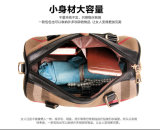 PU格子縞パターン女性革デザイナー方法3 PCS女性袋の一定のハンドバッグ