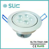 Luzes Recessed diodo emissor de luz, luz de teto do diodo emissor de luz, luz de teto interna, luz do gabinete do diodo emissor de luz do profissional 5W com 45 graus