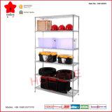 Vente chaude six couches de fil d'acier d'affichage de l'étagère de stockage (OW-WD01)