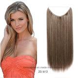 Capelli di trama Welf del tessuto dei capelli diritti dei capelli della fibra sintetica