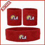 Sweatbands de base-ball de coton de Terry de sports