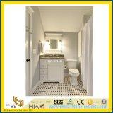Bathroom、Hotelのための黒いCustom Natural Stone Granite Vanity Top