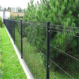 PVC Coated 3D Curved Fence/Airport Fence