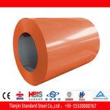A laranja amarela PVDF de Ral 2000 revestiu a bobina de aço Prepainted PPGI