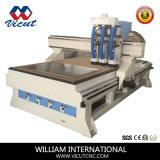 CNCの木製の旋盤木工業の切断(VCT-1530ASC3)のための自動スピンドルチェンジャー
