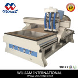 Router de madeira do CNC com o auto cambiador do eixo para o Woodworking (VCT-1530ASC3)