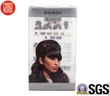 Los rectángulos de empaquetado del pelo, rectángulo de empaquetado para el pelo, compensaron los rectángulos de empaquetado de la impresión del pelo plástico ULTRAVIOLETA del claro