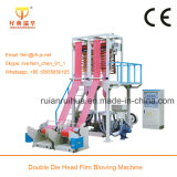 Plastik-HDPE/LDPE Film-durchbrennenmaschine des Farbstreifen-