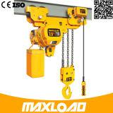 Grua Chain elétrica de 5 toneladas com tipo da Baixo-Altura livre (HHBB05-02SL)
