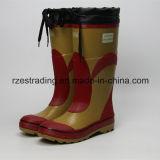 Ботинки минируя безопасности 100% резиновый с стальным пальцем ноги