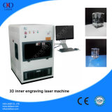 Precio caliente de la máquina de grabado del laser cristalino de la venta 3D con la mejor calidad
