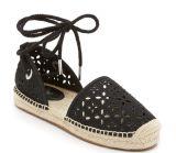 Chaussures plates de femmes de santals de chaussures et de pêcheur