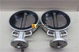 Тип клапан-бабочка вафли нержавеющей стали с полируя диском