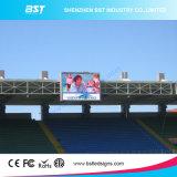 Panneau-réclame polychrome extérieur lumineux superbe du prix usine P5mm DEL Digital pour le stade de sports