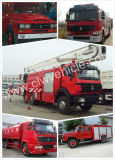 4*2 Dongfeng 5ton Water Foam Fire Sprinkler/Fire Fighting Truck
