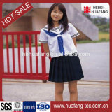 Tela del uniforme escolar