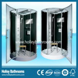 Neuer Entwurfs-Dusche-Raum mit Scharnier-Doppelt-Rollen-Rad-Schiebetür (SR216B)