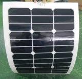 Semi гибкая панель солнечных батарей панели солнечных батарей 30W гибкая Sunpower