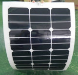 El panel solar flexible solar semi flexible del panel 30W Sunpower