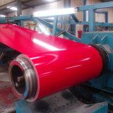 Катушка покрынная цветом стальная для толя/строительных материалов