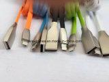 Der beste Verkauf schließen schnell magnetisches Mikro USB-Kabel-magnetisches aufladenkabel magnetisches USB-Kabel für iPhone und Samsung, Xiaomi, Huawei… 2 in 1 USB-Kabel Connecto an