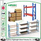 El almacenaje del almacén industrial aparta el estante de la paleta