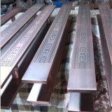 Maniglia del metallo con rivestimento di ramatura, maniglia di portello di acciaio inossidabile o alluminio
