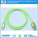 다채로운 비용을 부과 끈목 USB 케이블을%s 공장 가격