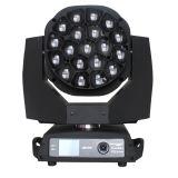 Beweglicher Kopf der Stadiums-Beleuchtung-RGBW LED 19X15W