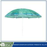 昇進の傘(SY1802-TC)を広告する昇進浜の日曜日パラソル
