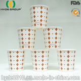 6oz taza caliente de papel disponible, taza de papel impresa (6oz)