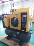 Geïntegreerde Packaged Screw Air Compressor (met tank & droger) - 10HP