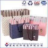 Самое дешевое цена бумажного мешка подарка Luxyry верхнего качества 2016, мешок искусствоа бумажный, изготовленный на заказ бумажный мешок с ручкой