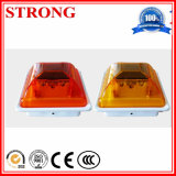 Red LED Traffic Road Construction Luz de aviso solar