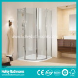 La baracca dell'acquazzone con i portelli scorrevoli può essere aperta da 2 lati (SE309N)