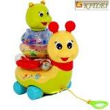 L'intelligence de bébé joue le jouet coloré matériel de véhicule de dessin animé d'ABS