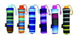 ストリップ3のフォールドのコンパクトなアルミニウム軽い傘(YS-3FM21083938R)