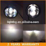 Lumière haute-basse de phare de Harley DEL de faisceau de CREE d'Emark 5.75inch 48W pour la jeep