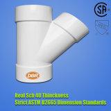ASTM Sch40 Plastik (UPVC) Rohrfittings ASTM-D-2466 für Zubehör-Wasser (KRÜMMER, T-STÜCK, KONTAKTBUCHSE, BUSH, etc. VERRINGERND)