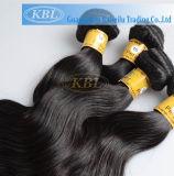 человеческие волосы Peruvian девственницы качества 100%Top