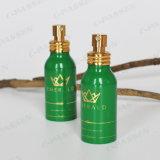 Botella de perfume de aluminio con la bomba de oro del aerosol del metal (PPC-ACB-055)