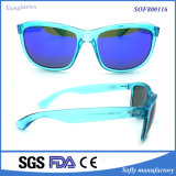 UV400 de modieuze Openlucht Volledige Zonnebril van Arnette van het Frame Retro Transparante
