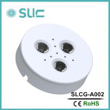 Luzes de gabinete de 3W LED de moda com CRI alto (SLCG-A001), luz de móveis, luz de teto, luz de baixo, luz de ponto