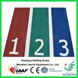 Iaaf는 국제적인 운동 경기를 위한 Prefabricated 운동 운영하는 궤도를 증명했다