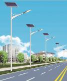 luz de calle solar de los 5m poste con el bulbo de 20W LED