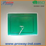 Mini caixa segura econômica com fechamento chave, aço contínuo com 2 parafusos