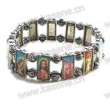 Metalllegierungs-Heilig-Rosenbeet-Armband