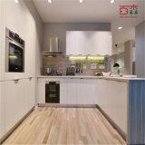 طرقت إلى أسفل طلاء لّك خزانة مطبخ تصميم حديثة