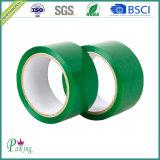 Зеленая лента упаковки цвета BOPP слипчивая для запечатывания коробки