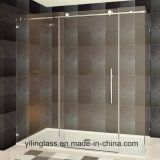 Extral Tempered White Glass per Shower Enclourse